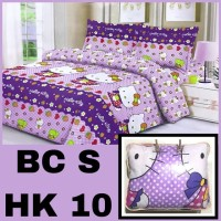 Bedcover dan Sprei Set Motif Hello Kitty Uk.120 x 200 cm / No.3