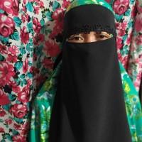 niqab bandana renda