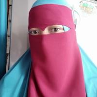 niqab mata elang