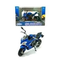 Welly Suzuki GSX-S1000 Biru 1:18
