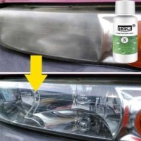 Cairan Lampu Mobil Lens Restoration Headlight Brightener 50ml - HGKJ-8