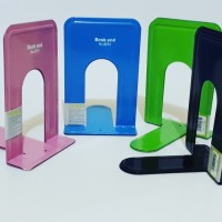 PEMBATAS BUKU BESI / BOOKEND HOLDER / BOOK END BESI PEMBATAS BUKU BESI