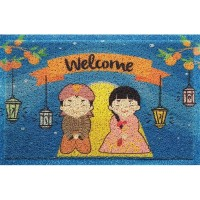 Keset Welcome couple lampu C09
