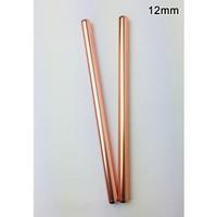 Sedotan Stainless Steel Straw BUBBLE TEA - Sedotan Metal BOBA