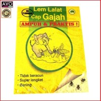Lem anti lalat serangga perangkap super lengket ampuh - fly catcher