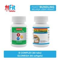 Paket Ekonomis : B Complex Plus 60 Tablet & Glomega 60 Softgel