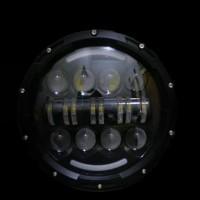 DAYMAKER 7 INCH WITH DRL TERMURAH LAMPU DEPAN MOBIL MOTOR model