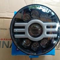 lampu depan daymaker cylops 7 inchi baru