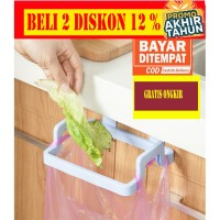 DP007 Gantungan Kantong Plastik Tempat Sampah Dapur