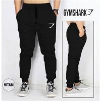 Celana Jogger Pants Polos Celana Training Sweatpants Murah Hitam