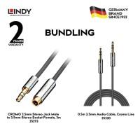 [BUNDLING] LINDY Audio Cable 35293 dan 35320
