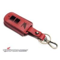 Sarung Remote Kunci Smart key Honda Vario 150 Kulit Asli Warna Merah