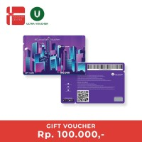 Ultra Voucher Fisik Rp 100.000 (Special Gift Card)