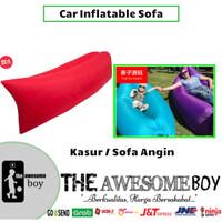 Car Inflatable Sofa Kasur Angin Tiup Lipat Portable Pantai Piknik