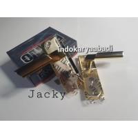 (KOMPLIT) Handle Gagang Pintu KECIL 15 cm + Body kunci set KUALITAS