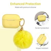 Case AirPods Pro ESR ORIGINAL Bounce Series Soft Casing FREE Keychai