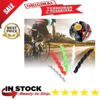 Karet Spiral Pelindung Kabel Rem Sepeda