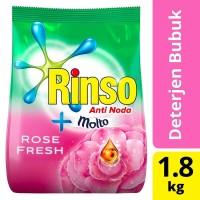 RINSO Molto Rose Fresh / Perfume Essence Deterjen Bubuk 1.8Kg