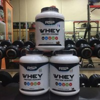 RSP Whey Protein Powder 4,6 lb 5 lbs 4.6 milk concentrate isolate