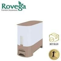 Tempat Beras Rovega 5kg/Rice Wise Box Dispenser Rovega