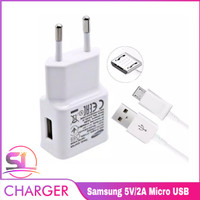 Charger Samsung Galaxy Adaptive Fast Charging NOTE 4 5 S6 S7 J2 J3 Dll