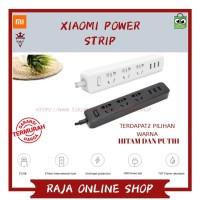 Smart stop kontak XIAOMI MI POWER STRIP 3 USB PORT colokan adaptor