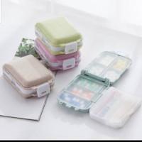 Kotak obat lipat 3-Tingkat Nordick P875/Kotak vitamin