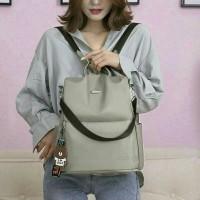 Tas Ransel Wanita Korea / Tas Ransel Backpack Multifungsi Wanita - Emm