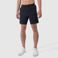 Celana Olahraga Lari Gym Fitness - Atalon Fundamental Short Pants - Hitam, M