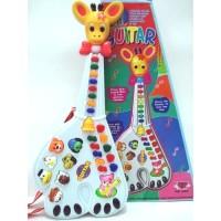 gitar jerapah/mainan edukasi anak