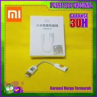 Adaptor converter headset xiaomi type c to jack audio Original 100%