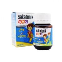 Sakatonik abc rasa tutti fruti - antariksa 30 tab - Vitamin Anak