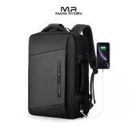 """Mark Ryden MR9299KR Backpack Bag USB - Tas Ransel Laptop 17"""" - BLACK"""