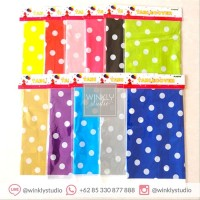 Taplak Meja Polkadot Table Cloth / Alas Meja Polka / Taplak Pesta