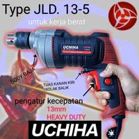 mesin bor uchiha 13mm type 13-5 heavy duty kerja berat drill listrik
