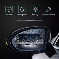 Super waterproof anti fog film 10x15cm x 2pcs anti air fog spion mobil