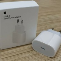 ADAPTOR / KEPALA CHARGER APPLE IPHONE 11 PRO MAX TYPE C 18W ORIGINAL