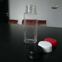 Botol Plastik Kale Kotak 250Ml - Tutup Besar