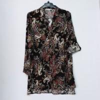 Defacto Tunic Shirt Blouse Brand Murah - Hitam, S