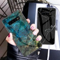 Marble Glass Case Samsung Galaxy Note 8 9 Note8 Note9 Back Casing