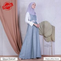 Hijabwanitacantik ORI Qisya Overall ORIGINAL | Pakaian