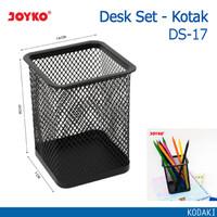 JOYKO Desk Set Pen Holder Tempat Alat Tulis Jaring KOTAK Jala DS-17