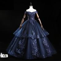 Gaun Pengantin 1912019 Hitam Sabrina Wedding Dress Gown