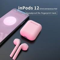 Ready Stocki12 TWS Earphone Wireless Bluetooth HiFi Warna Warni untu