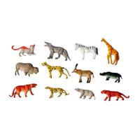 Wild Animal set 12 pcs Mainan Binatang