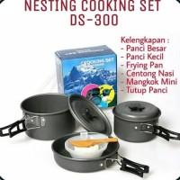Cooking Set / Nesting Ds 300 / Perlengkapan Masak Outdoor / 2-3 Person