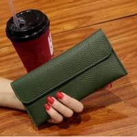 W25 Dompet Wanita Panjang Modern Compact Women Wallet