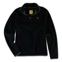 Terlaris Original Aeropostale Men Women Logo Sweater Jaket Half Zipper