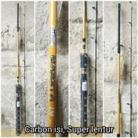 Joran Daido MAESTA 1,5 Meter Carbon Isi, Super lentur