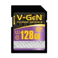 V-GEN SDXC Turbo Memory Card [128 GB/Class 10/85 Mbps]